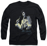 Long Sleeve: Elvis Presley - Painted King T-Shirt
