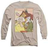 Long Sleeve: Courage The Cowardly Dog - Gothic Courage Shirt