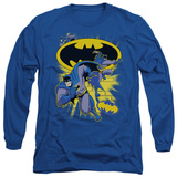 Long Sleeve: Batman The Brave and the Bold - Action Collage T-Shirt