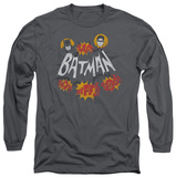 Long Sleeve: Batman Classic TV - Sound Effects T-shirts