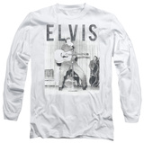 Long Sleeve: Elvis Presley - With The Band T-shirts