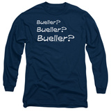 Long Sleeve: Ferris Bueller's Day Off - Bueller T-Shirt