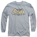 Long Sleeve: Batman Classic TV - Show Logo Long Sleeves