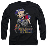 Long Sleeve: Betty Boop - Not Your Average Mother Shirts