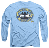Long Sleeve: Babe - Conflict Resolution T-Shirt