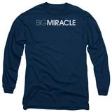 Long Sleeve: Big Miracle - Logo T-shirts