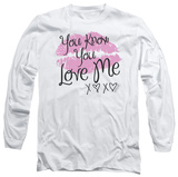 Long Sleeve: Gossip Girl - You Love Me T-shirts