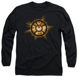 Long Sleeve: Green Lantern - Orange Glow Shirts