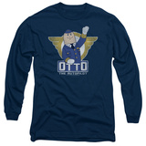 Long Sleeve: Airplane - Otto T-shirts