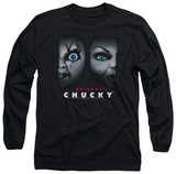 Long Sleeve: Bride Of Chucky - Happy Couple T-Shirt