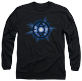 Long Sleeve: Green Lantern - Indigo Glow T-Shirt