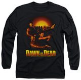 Long Sleeve: Dawn Of The Dead - Dawn Collage T-Shirt