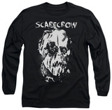 Long Sleeve: Batman Begins - Scarecrow Face Shirt