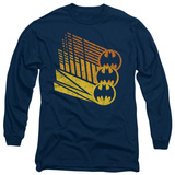 Long Sleeve: Batman - Bat Signal Shapes Long Sleeves