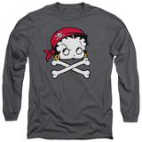 Long Sleeve: Betty Boop - Pirate Long Sleeves