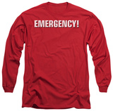 Long Sleeve: Emergency - Logo T-shirts