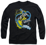 Long Sleeve: Batman - Bat Effects Long Sleeves