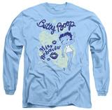 Long Sleeve: Betty Boop - Miss Behavin' T-Shirt