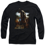 Long Sleeve: Cowboys & Aliens - Cowboy T-Shirt