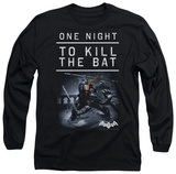 Long Sleeve: Batman Arkham Origins - One Night T-shirts