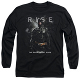 Long Sleeve: Dark Knight Rises - Batman Rise Shirt