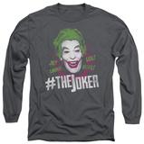 Long Sleeve: Batman Classic TV - No.Joker T-shirts