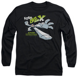 Long Sleeve: Dexter's Laboratory - Robo Dex T-Shirt