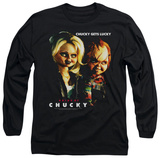 Long Sleeve: Bride Of Chucky - Chucky Gets Lucky T-Shirt