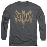 Long Sleeve: Batman Classic TV - Vintage Logo T-shirts