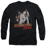 Long Sleeve: Elvis Presley - Burning Love T-shirts
