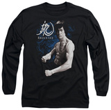 Long Sleeve: Bruce Lee - Dragon Stance T-Shirt