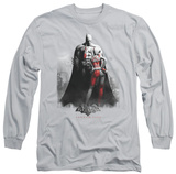 Long Sleeve: Batman Arkham City - Harley And Bats T-Shirt