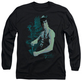 Long Sleeve: Bruce Lee - Feel T-shirts