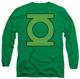 Long Sleeve: Green Lantern - GL Emblem Shirts
