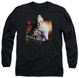Long Sleeve: Batman Arkham City - Certified Insane T-Shirt