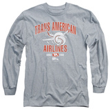 Long Sleeve: Airplane - Trans American T-shirts