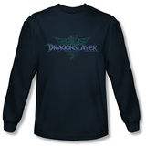 Long Sleeve: Dragonslayer - Crest Shirts
