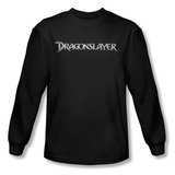 Long Sleeve: Dragonslayer - Logo T-Shirt