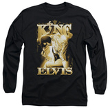 Long Sleeve: Elvis Presley - The King Long Sleeves