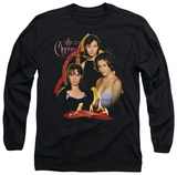 Long Sleeve: Charmed - Original Three T-Shirt