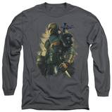 Long Sleeve: Batman Arkham Origins - Deathstroke T-Shirt