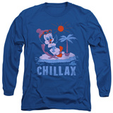 Long Sleeve: Chilly Willy - Chillax T-Shirt