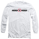 Long Sleeve: Chuck - Nerd Herd Shirt