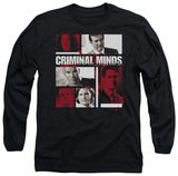 Long Sleeve: Criminal Minds - Character Boxes T-shirts