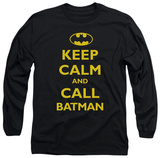 Long Sleeve: Batman - Call Batman T-shirts
