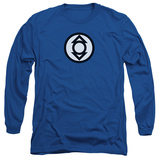 Long Sleeve: Green Lantern - Indigo Tribe T-Shirt