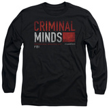 Long Sleeve: Criminal Minds - Title Card T-shirts