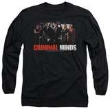Long Sleeve: Criminal Minds - The Brain Trust T-Shirt