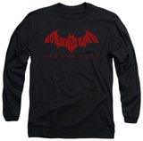 Long Sleeve: Batman Arkham City - Red Bat T-shirts