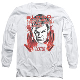 Long Sleeve: Dexter - Blood T-Shirt